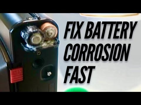 EASIEST Way To Fix Camera Battery Corrosion