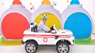 Vlad y Niki se divierten con carros de juguete - Videos divertidos para niños