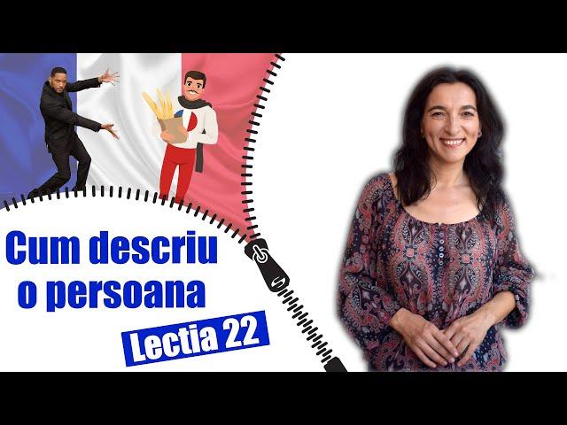 Comment je décris une personne en français | Leçon 22 | leçon pratique + sous-titres | DÉBUTANTS