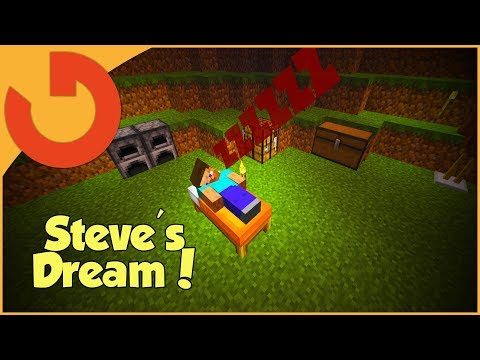 WHAT A MINECRAFT DREAM IS LIKE (Asleep 2 Adventure Map)