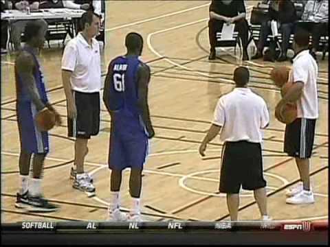 Larry Sanders NBA Combine