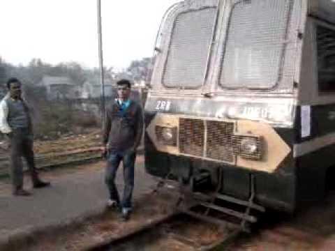 End of Journey→ Katwa-Burdwan Choti Line Train