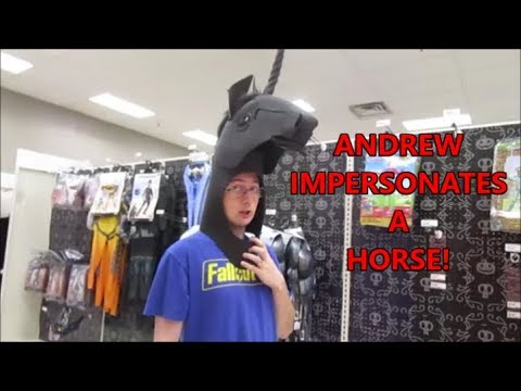 ANDREW IMPERSONATES A HORSE 9.12.19 Day 2269