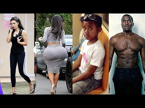 Kim kardashian vs Kanye West Transformation ★ 2018