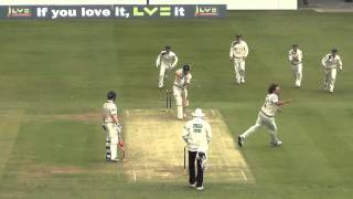 Ryan Sidebottom rips into Dawid Malan with a beauty at Lord's