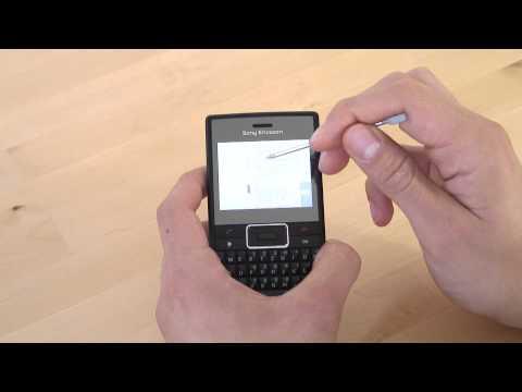 Sony-Ericsson Aspen Internet