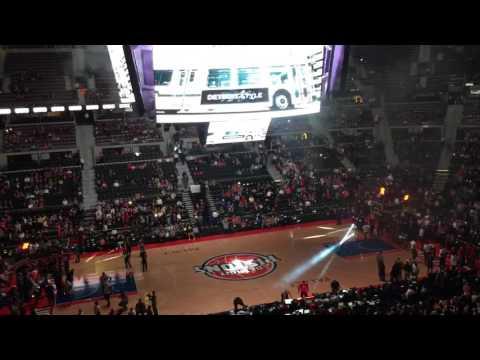 Spieler Intro Detroit Pistons bis Indiana