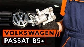 Montage Stabilisatorkoppelstang achter links VW PASSAT: videotutorial