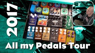 All my Pedals Tour 2017 - you asked for it!