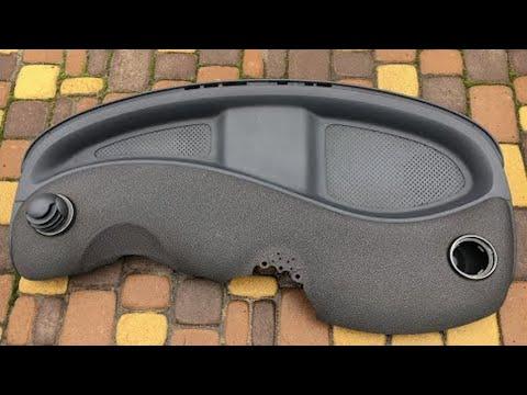 Как снять торпедо Smart ForTwo? Снятие панели инструментов Смарт ///  Бортовой журнал Smart ForTwo