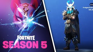 All Skins, Emotes and Dances | Season 5 | Fortnite