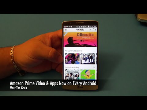 Amazon Prime Instant Video & Apps Finally on Every Android