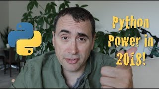 Python Powers Up in 2018!