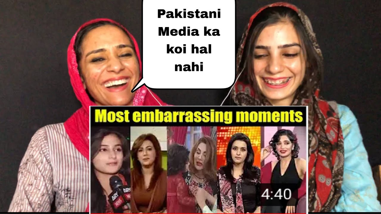 Pakistani Media Roasted | Part 4 | Pakistani Reaction | Magisco Seher,Nayab |