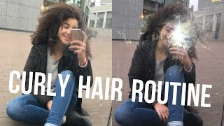 My Curly Hair Routine ♡