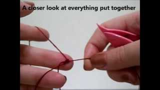 Beginning Shuttle Tatting ~ Winding, Double Stitch, Ring ~ Tutorial ~ kmemuse
