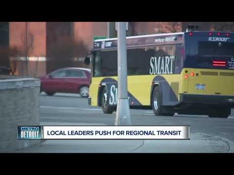 New Regional Transit Initiative Proposed For Metro Detroit Area
