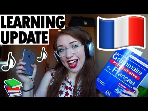 Self-taught French Update: Grammar Workbook, Singing In French, Courses