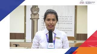 Ladies Representative, MIT-World Peace University,Pune