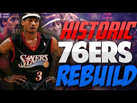 Rebuilding the HISTORIC PHILADELPHIA 76ERS!! CAN WE BEAT JORDAN?!? - NBA 2K17 MYLEAGUE