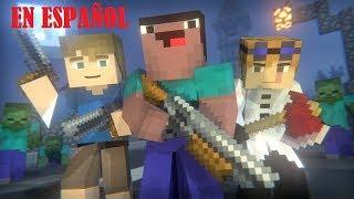 Download The Blocking Dead: PELÍCULA COMPLETA HD | UNA AVENTURA NOOB 😱 - EN ESPAÑOL [Minecraft]