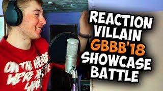 VILLAIN | Grand Beatbox SHOWCASE Battle 2018 | Reaction