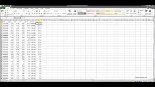 Excel Yahoo Finance Stock Data Import