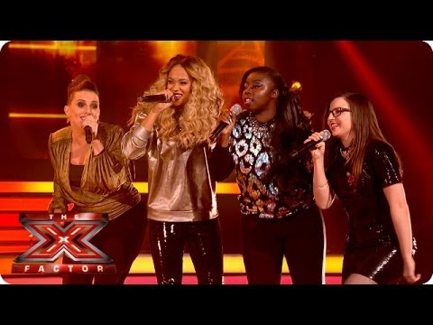 The Final 9 sing A Night To Remember by Shalamar - Live Week 4 - The X  Factor 2013