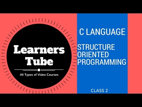Structure Oriented Programming Class 2