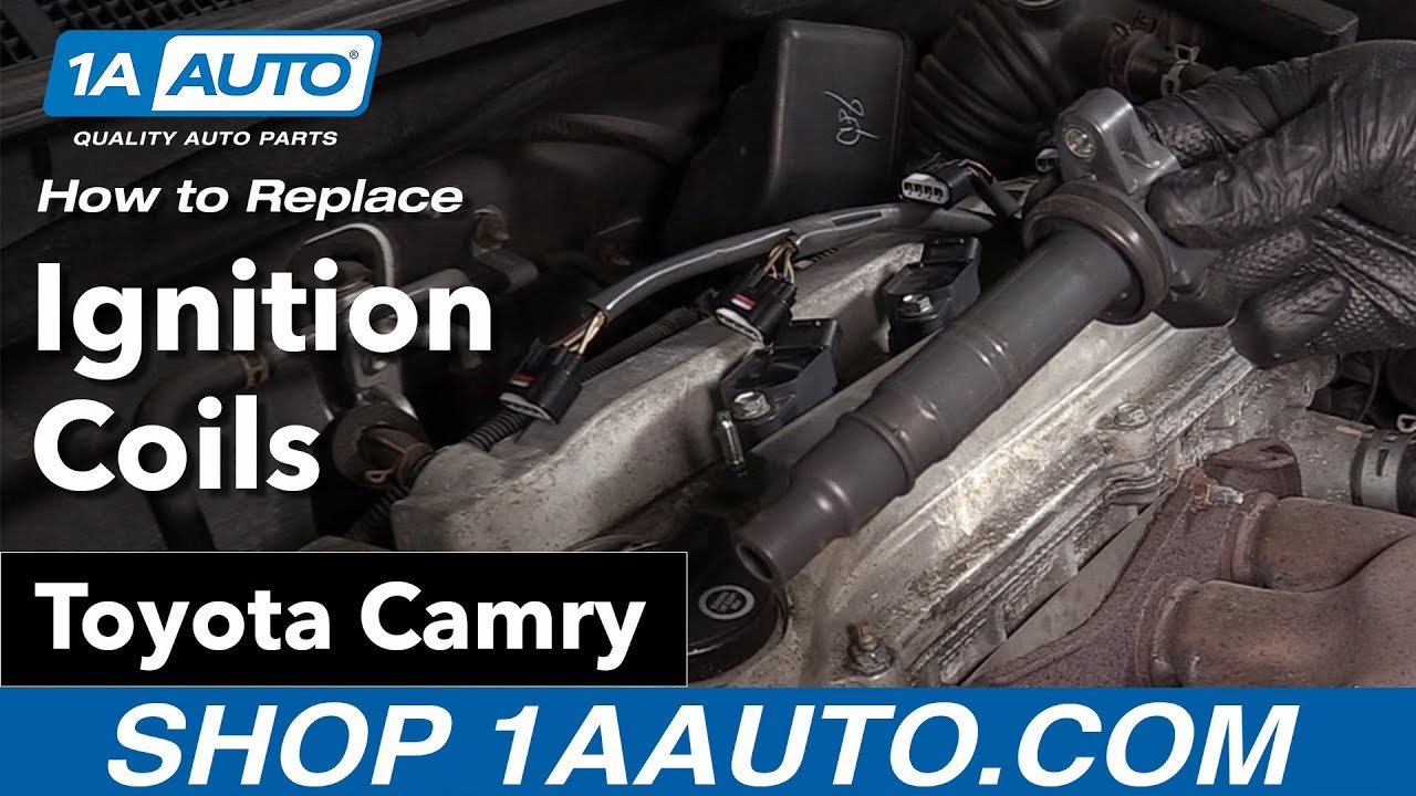 how to replace ignition coils 06 11 toyota camry [ 1280 x 720 Pixel ]