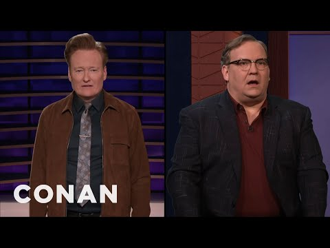 "Andy Hasn't Seen ""Parasite"" - CONAN on TBS"