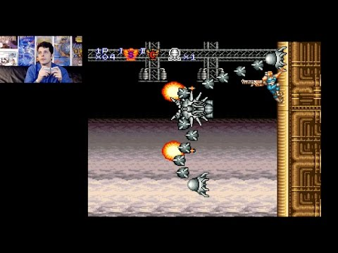 Contra III: The Alien Wars (SNES) Hard Difficulty Playthrough