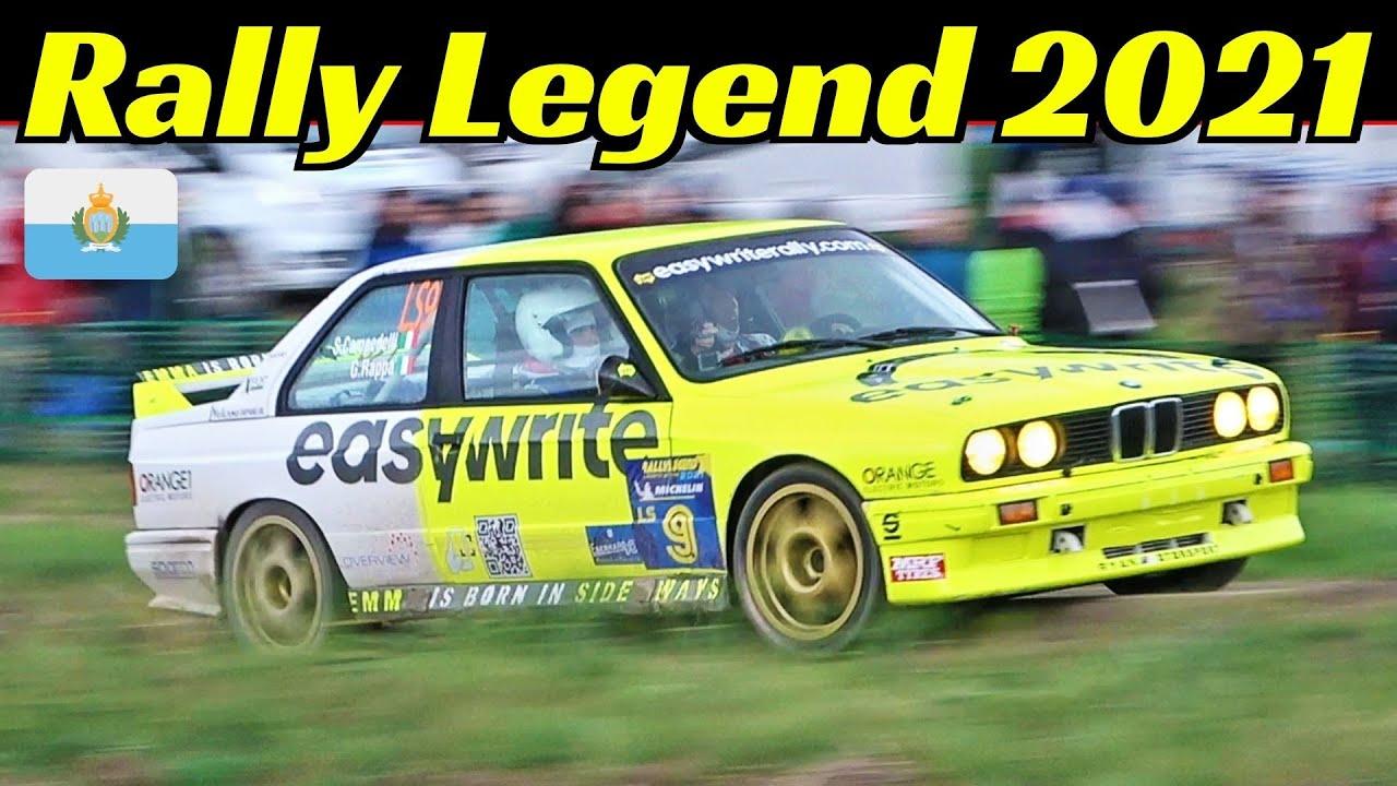 Rally Legend 2021 San Marino - Day 1 - Friday/Venerdì - Shakedown - Biasion, Gigi Galli, Delecour