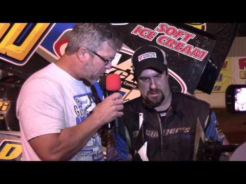 Susquehanna Speedway Super Sportsman Victory Lane 09-10-16