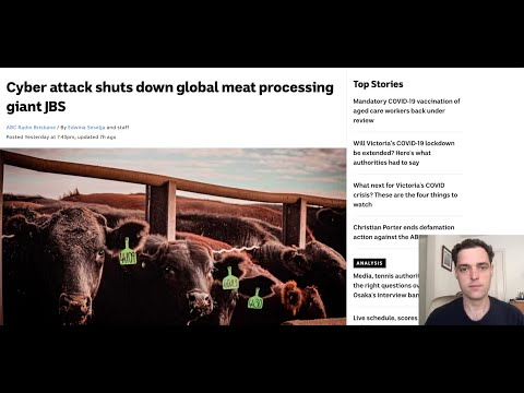 Cyberattack Shuts Down Biggest Meat Producer in World, JBS - Cyberpandemic meets Food Supply