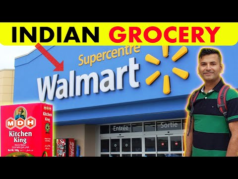 Indian Grocery 👉 CANADIAN WALMART