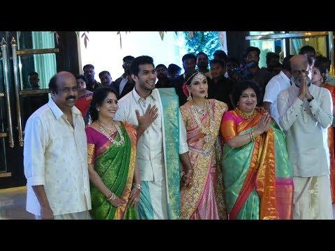 FULL VIDEO: Soundarya Rajinikanth - Vishagan Marriage | Rajini,Kamal Hassan ,Dhanush ,Anirudh