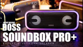 BETTER than JBL and Sony? Doss Soundbox Pro Plus - BUDGET SERIES REVIEW