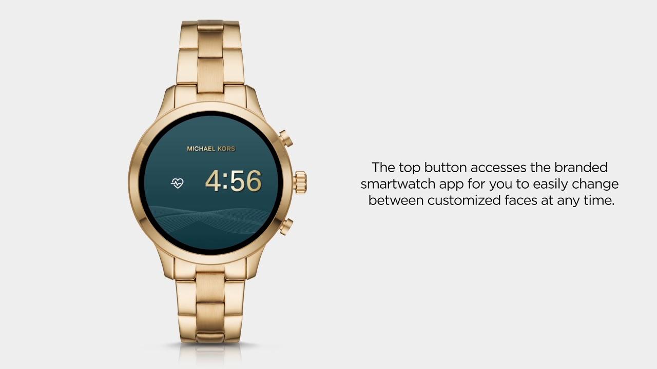 1ba411d3f6e5 Michael Kors Access Runway Smartwatch | Functionality - YouTube