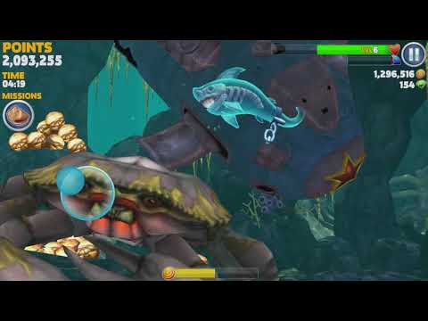 Hungry Shark Evolution Ghost Shark Android Gameplay #4