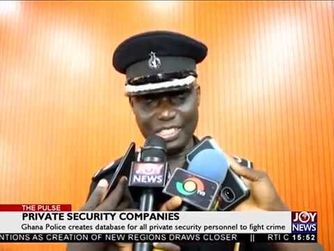 Private Security Companies – The Pulse on JoyNews (26-12-18)