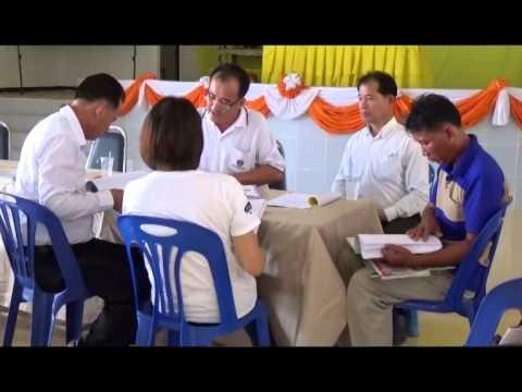 นำเสนอประชุมประเมินรับรองแผนชุมชน3กค 2557
