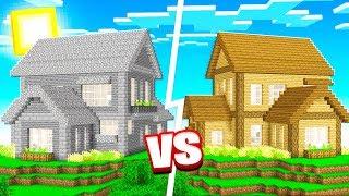 1 COLOR HOUSE MINECRAFT BUILD CHALLENGE!