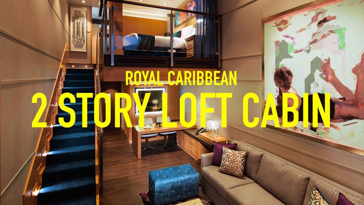 ROYAL CARIBBEAN CRUISE SHIP TOUR Two Story Oasis Of The Seas Crown Loft Suite