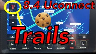8.4 Uconnect Radio Cookie Trails (Bread Crumbs) Feature