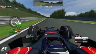 F1 2008 (FSONE) onboard at Spa with Vettel