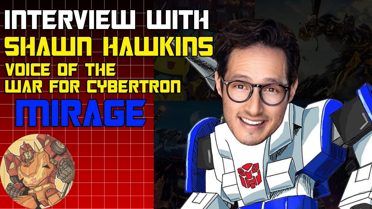 Interview with the Voice of Netflix Transformers Mirage, Shawn Hawkins