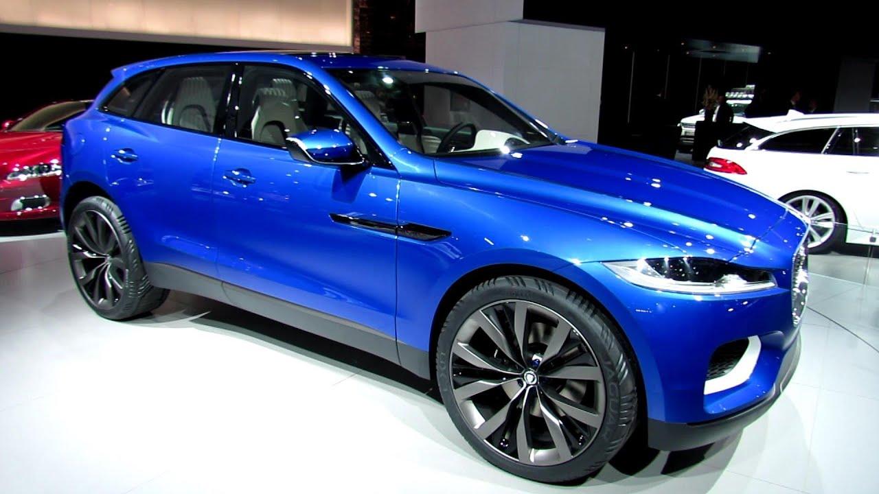 2015 jaguar cx 17 suv concept exterior walkaround 2013 frankfurt motor show youtube. Black Bedroom Furniture Sets. Home Design Ideas