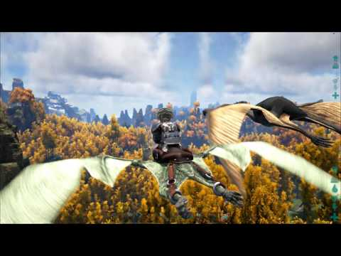 Ark: Survival Evolved The Center- Quetzal Tame W/ Pteranodon And Grappling Hook (S2E06)