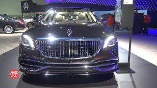 2019 Mercedes Maybach S 650 - Exterior And Interior Walkaround - 2018 LA Auto Show